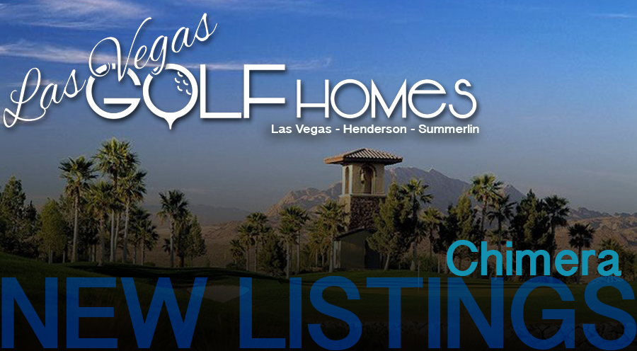 Chimera Golf Club Homes for Sale in Henderson Nevada