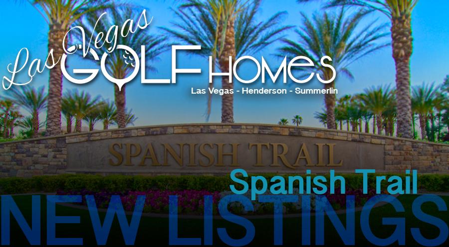 Spanish Trail Country Club Las Vegas New Listings